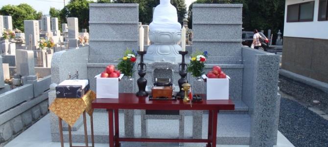 加西市の曹洞宗・宗寿寺様で永代供養墓を建立しました