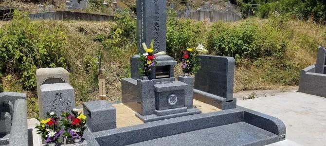 楽法寺墓地でお墓の移設・新規建立「現代墓石」