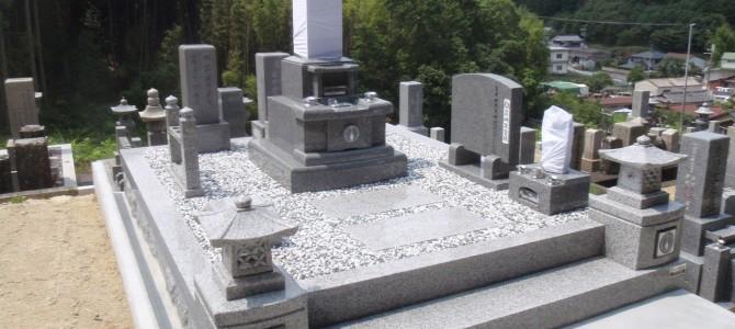 中野石材オリジナル 「現代墓石」の建立