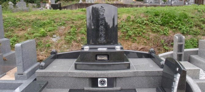 当社オリジナル「未来墓」の建立