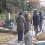 神戸市営・鵯越墓苑で追加文字彫りと納骨代行