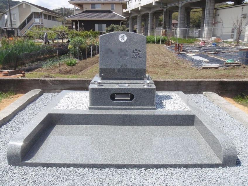 姫路市北山田町でお墓の文字彫り・リフォーム工事