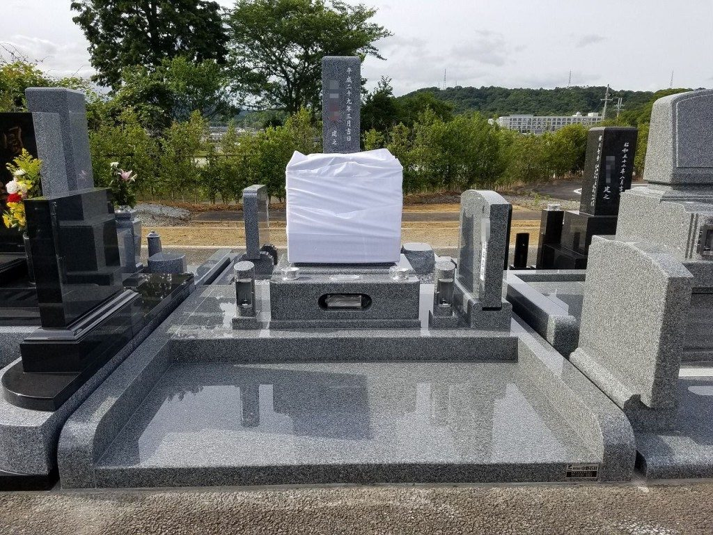 姫路市営 片山霊園 洋墓建立